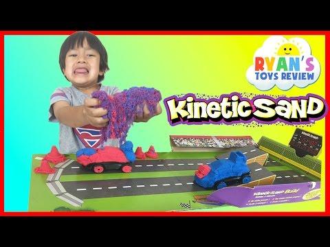 Kinetic Sand Build Crash