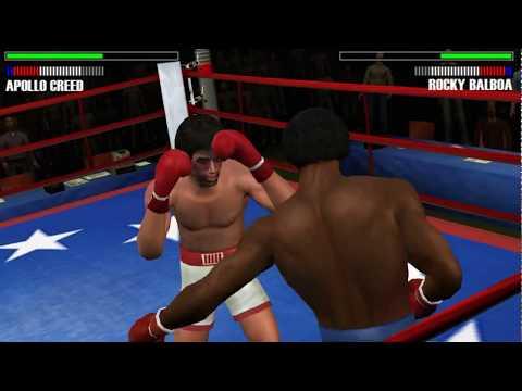 Rocky Balboa - PSP (PPSSPP) Apollo Creed vs Rocky Balboa - Historical Fight