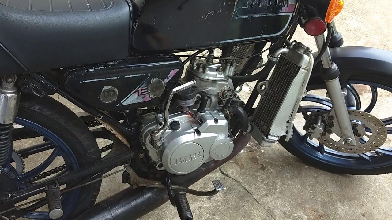 Rx125 Com Motor De Dt 200 Funcionamento Youtube