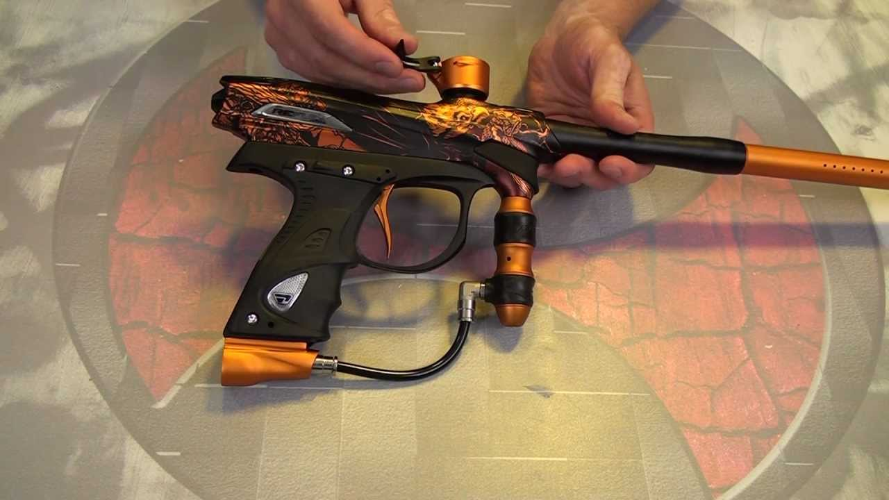 how to make your paintball gun shoot straight