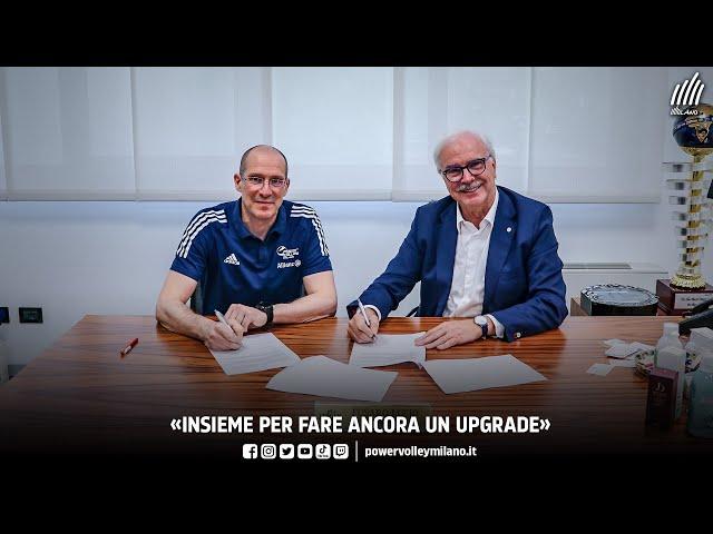 Rinnovo Piazza, intervista al coach Roberto Piazza