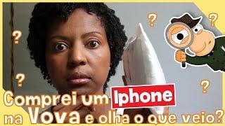 COMPREI UM IPHONE DA VOVA E OLHA O QUE VEIO