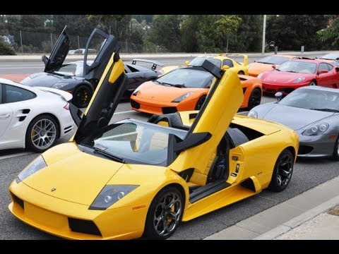 supercar drive 100 exotic cars youtube