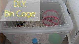 D.i.y: Bin Cage
