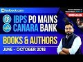 IBPS PO | Canara Bank | Important Books & Authors | June - October 2018 | Learn with Abhijeet Sir