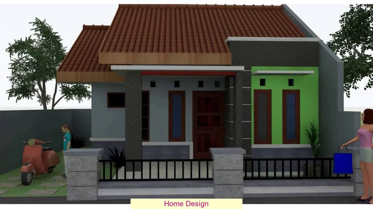 Desain Rumah Sederhana 1 Lantai  YouTube