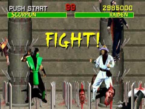 Classic Gaming : Mortal Kombat Arcade - Found Reptile with Raiden