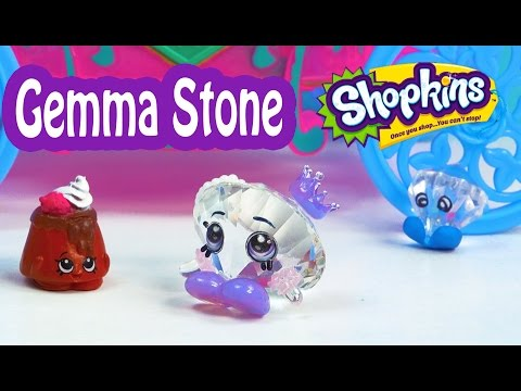 GEMMA STONE meets Shopkins Season 1 and 2 Play Video Cookieswirlc