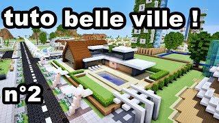Comment faire une BELLE ville sur MINECRAFT ? TUTO  !