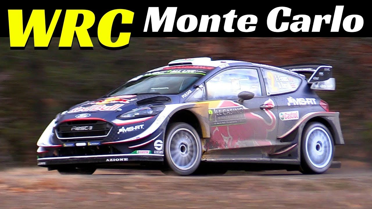 WRC Rally Monte Carlo 2018 - Day 2 - Special Stage Vaumeilh-Claret - Pure Sound!