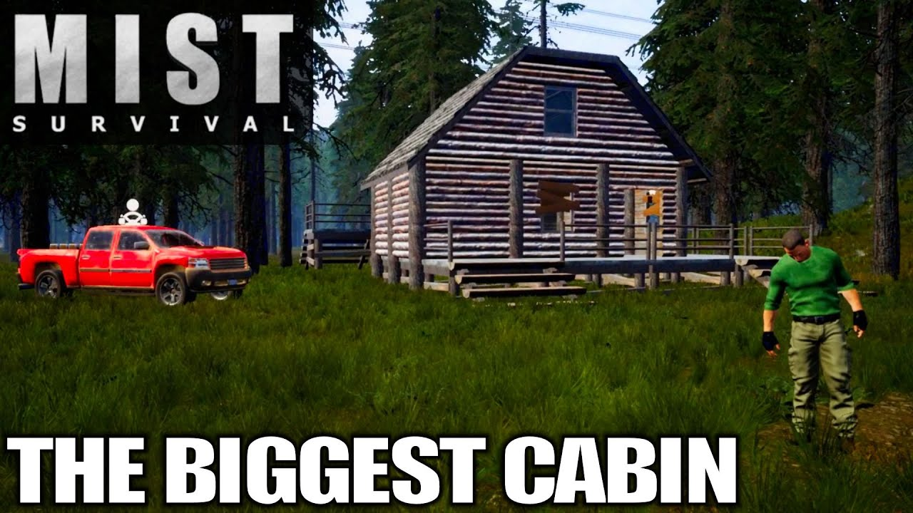 Download Crafting the BIGGEST Cabin | Mist Survival | Let's Play Gameplay | E12