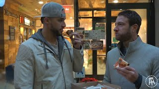 Barstool Pizza Review - Stone Bridge Pizza With Special Guest George Springer