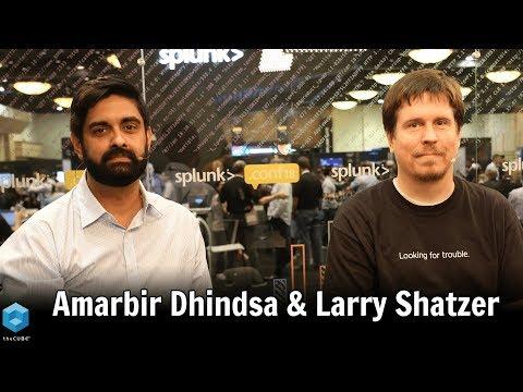 Amarbir Dhindsa, Myriad Genetics & Larry Shatzer, Myriad Genetics   Splunk .conf18