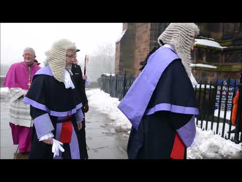 Administration of justice service at St Peter's Church, Wolverhampton