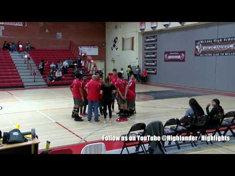 McLane High School Boy's Volleyball