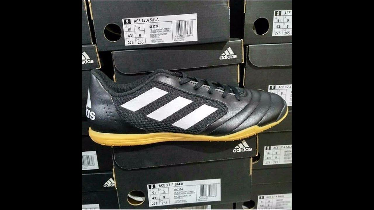 afa641d19a14 Unbox Review Adidas Futsal Ace 17 4 SALA S82224 - YouTube