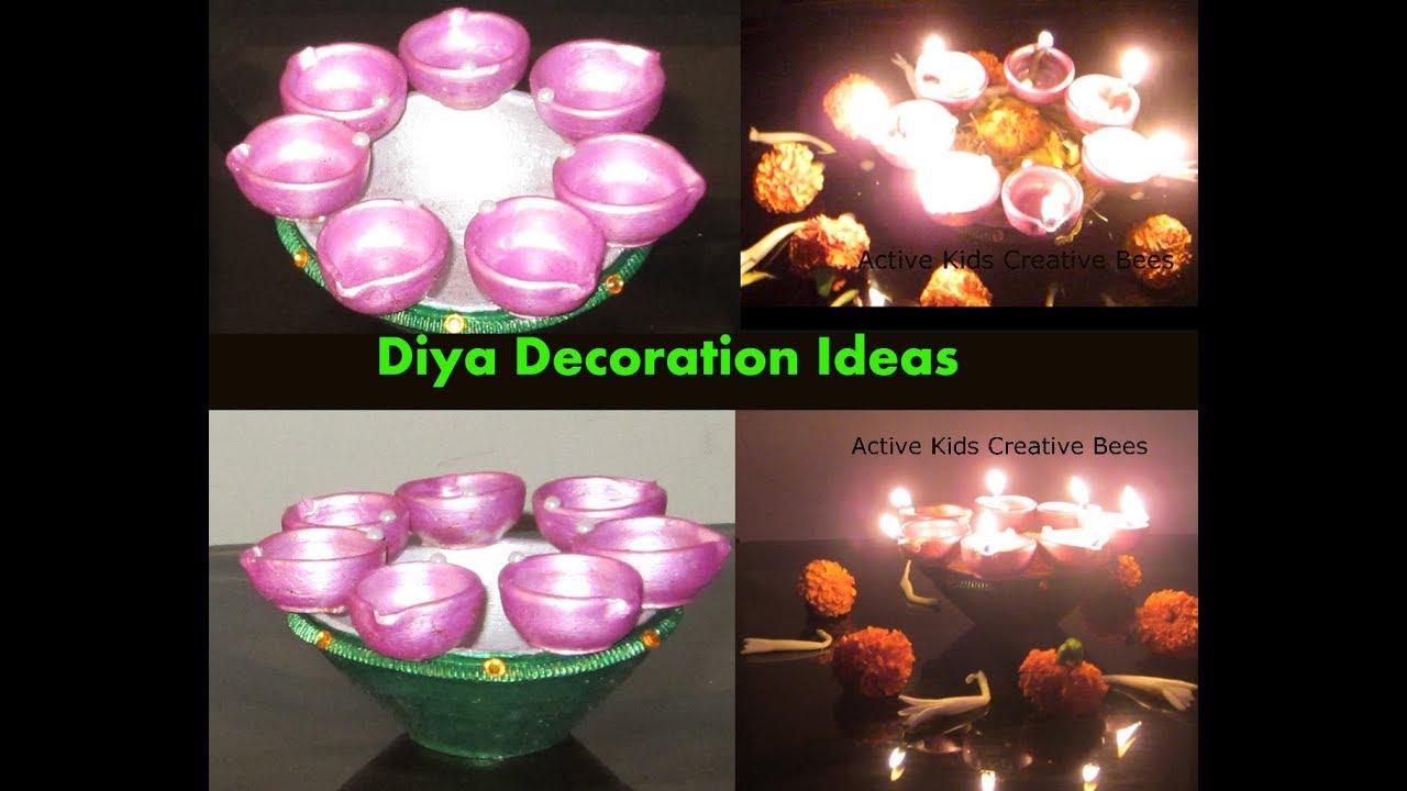 Diwali Diya Decoration Ideas Diy Diwali Decoration At Home Decorators Catalog Best Ideas of Home Decor and Design [homedecoratorscatalog.us]