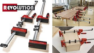 BESSEY - The evolution of the K Body REVO parallel clamp