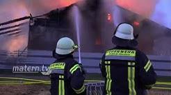Einfamilienhaus in Zwingenberg wird zur Flammen-Hölle