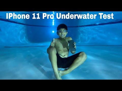Apple Iphone 11 Pro MAX Underwater Waterproof Pool Testing The IP68 Water Resistance Tips & Tricks
