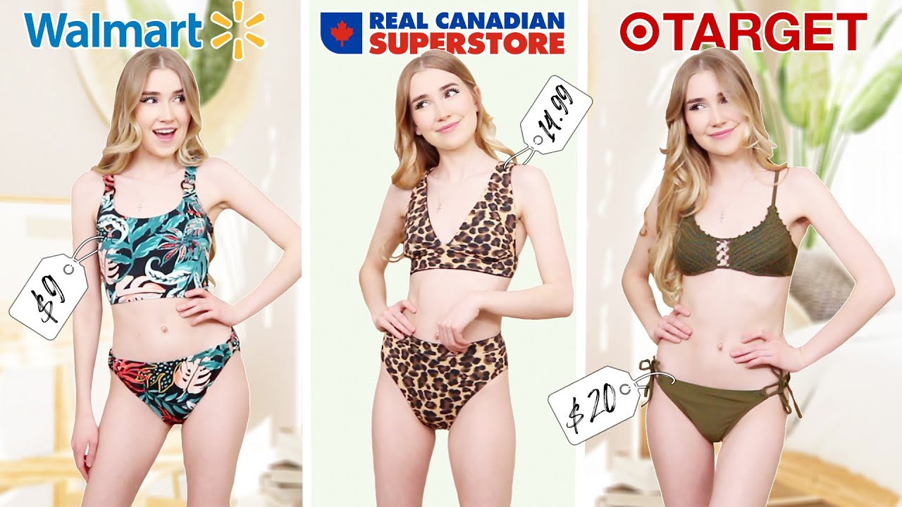 Trying Affordable Swimsuits From Grocery Stores?! *amazing swimwear under $20*