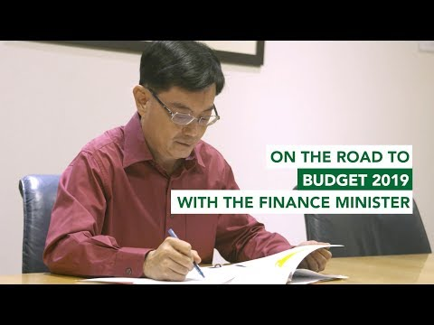 On the road to Budget 2019 with the Finance Minister