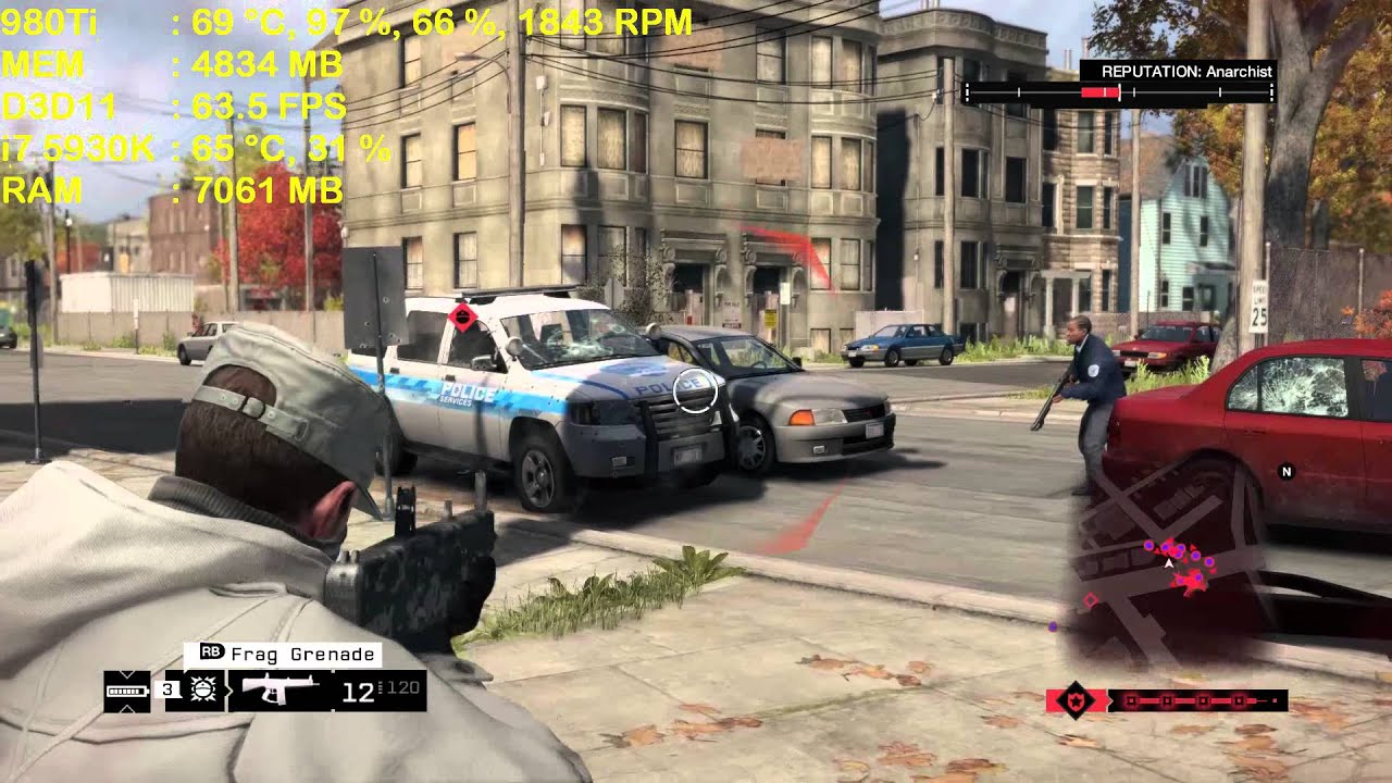 Watch Dogs  Zotac  Ti Amp Extreme