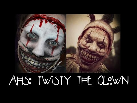 HALLOWEEN: AHS Freak Show - Twisty The Clown Makeup Tutorial | Shlemonade