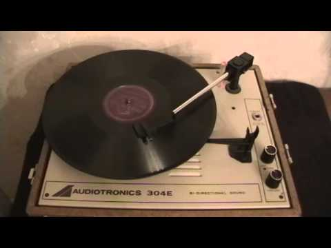Juke Box Polka 78 RPM Record: Before And After A Cleaning And A Stylus/Needle Change