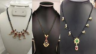 Black Beads chain collections //నల్లపూసల  కలెక్షన్
