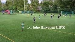 HPS TV: Kolmonen 8.6.: HPS - FC POHU 2-2 FT -kooste+haastattelu
