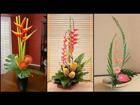 Beautiful Ikebana japanese floral arrangements    Flower arrangement ideas 2020