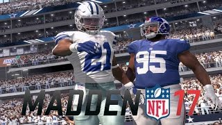 MADDEN NFL 17 OFFICIAL EARLY GAMEPLAY HOW DID ODELL BECKHAM CATCH THAT? AGGRESSIVE CATCH TEST