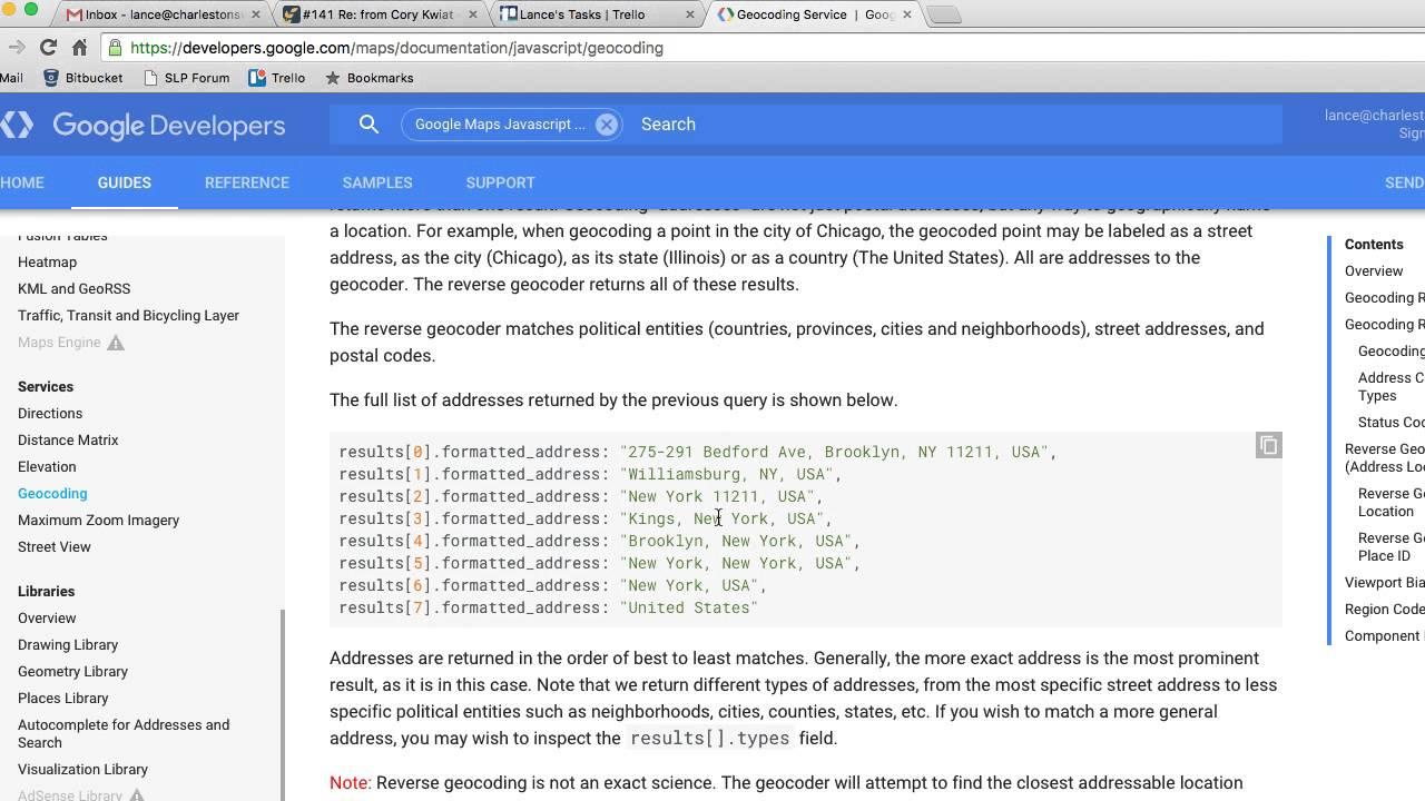 Google Maps JavaScript API Geocoding Failure Part 2