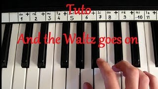 And The Waltz Goes On - Sir Anthony Hopkins - Piano Tutorial