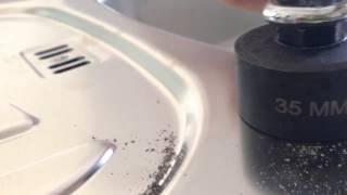 как сделать отверстие под смеситель в кухне  установка смесителя (Установка крана в мойку)(отверстие под смеситель своими руками., 2014-05-16T14:32:43.000Z)
