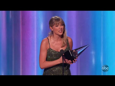 Taylor Swift Wins Favorite Album - Pop/Rock at the 2019 AMAs - The American Music Awards
