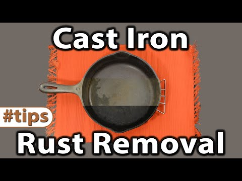 Cast Iron Rust Removal | Tips | Caveman Keto
