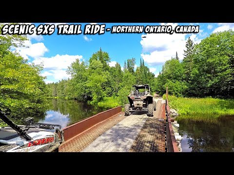 Scenic SXS Trail Ride - Broken Axles + Blown Belts are Part of the Game - #TeamAJP Trail Vlog 003