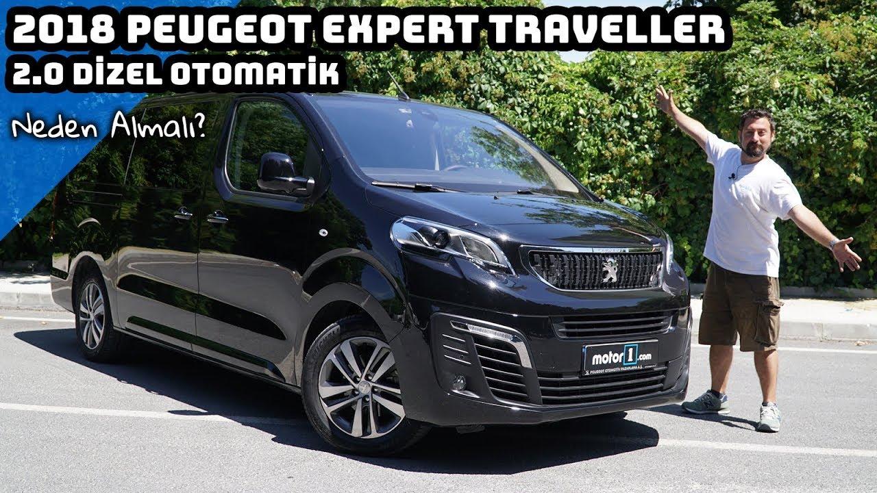2018 Peugeot Expert Traveller 20 Dizel Otomatik Neden Almalı
