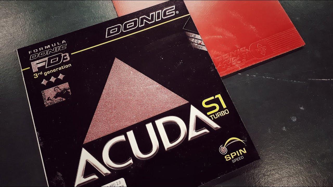 Donic Acuda S1 Tischtennisbelag