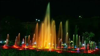 brindavan garden mysore beautiful at night with musical fountain