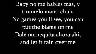 Pitbull Feat.Marc Anthony - Rain Over Me (lyrics) + French translation/Traduction Francaise