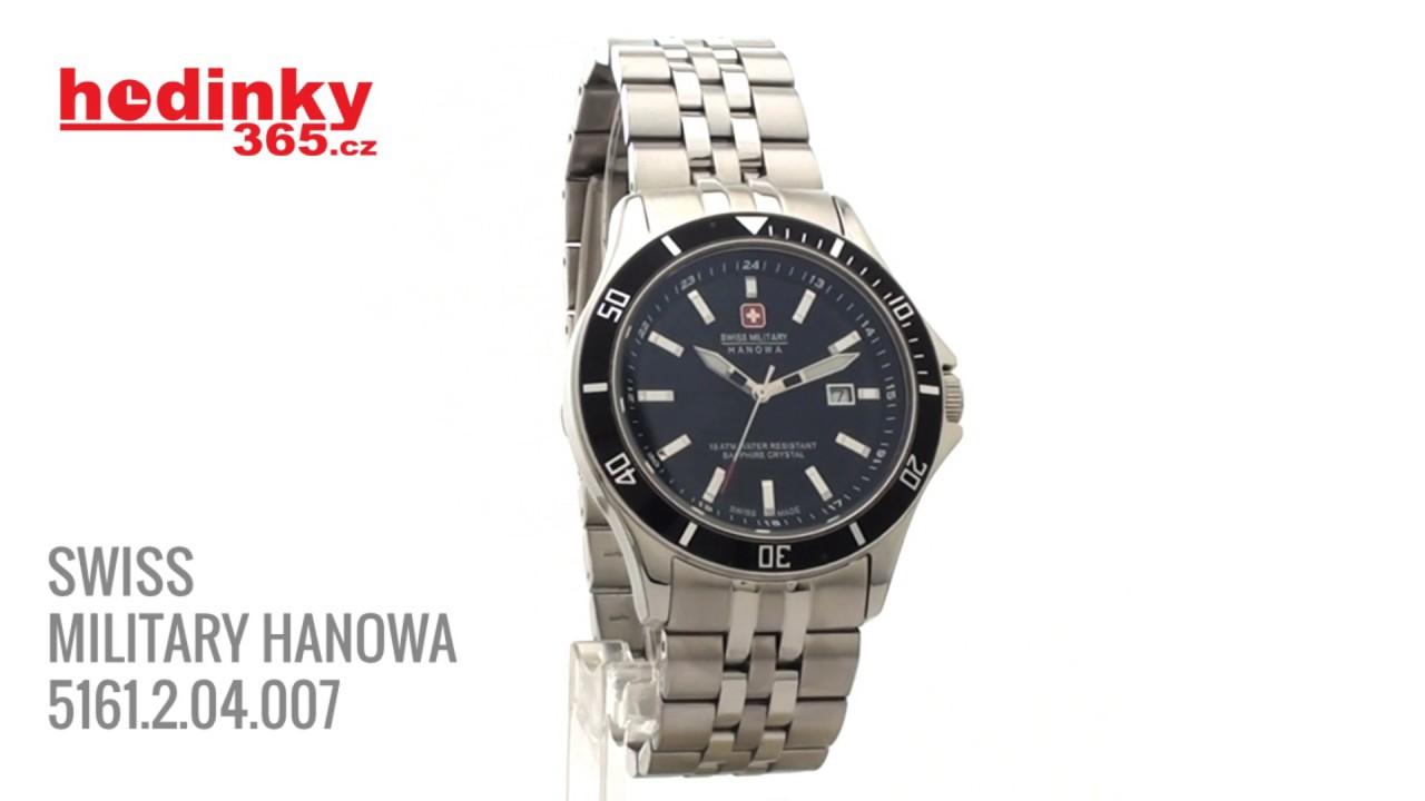 5a07af27497 Swiss Military Hanowa 5161 2 04 007 - YouTube