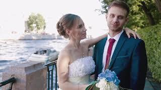 Свадьба в Первом Дворце Бракосочетания, прогулка по Неве и СПб
