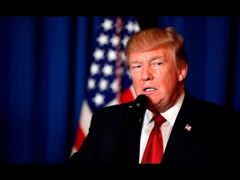 Watch Trump's full statement on the Syria missile strikes