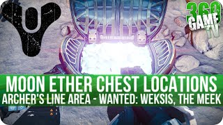 Destiny - All Moon Ether Chest Locations - Archer