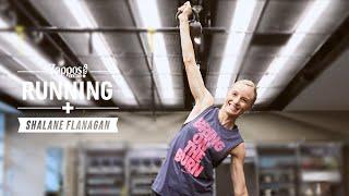 Quick Kettlebell Workout with Shalane Flanagan