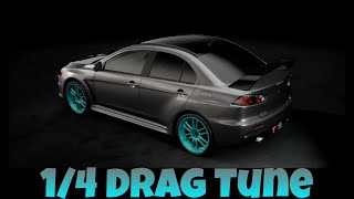 *GTSport* 1/4 Drag Tune Mitsubishi Lancer Evo.Final '15 (Updated)
