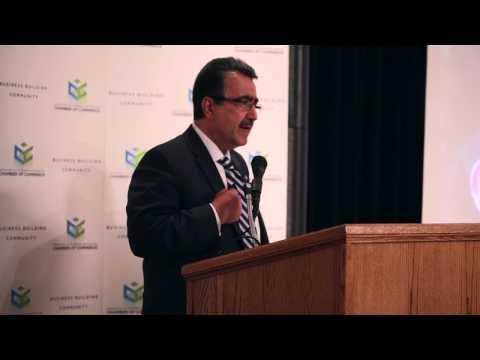 President Hamdullahpur Speaks To The Greater Kitchener-Waterloo Chamber Of Commerce